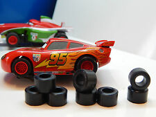 8  rear tires for MICRO SCALEXTRIC slotcar HO UK