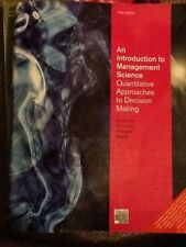 an introduction to management science by anderson sweeney williams and martin