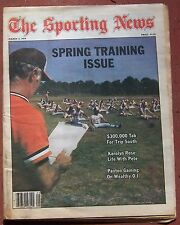 3-3-79 SPORTING NEWS BASEBALL SPRING TRAINING ISSUE BALTMORE ORIOLES COVER