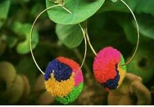 Stylish Beautiful Pom Pom earring
