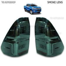 For Toyota Hilux Revo M70 M80 2015 2016 Set Black Smoke Lens Led Tail Lamp Light