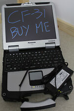 Panasonic Toughbook CF-31 2.27GHz i3 Backlit Keys 4GB Touchscreen Win 10 7Q