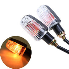 Universal Motorcycle Scooter Bike Turn Signals Indicator Light Amber 12V Lamp