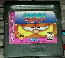Garfield: Caught In The Act (Sega Game Gear, 1995) Cart Only, Tested To Work