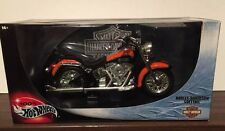 Hot Wheels  1:10 Harley Davidson Softtail       Orange & Black