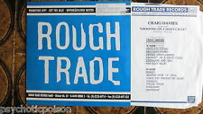 Craig Davies - Groovin' On A Shaft Cycle Advanced Promo LP  Rough Trade ‎RTD 161