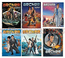Archer TV Series ~ Complete Season 1-6 (1 2 3 4 5 & 6) BRAND NEW 12-DISC DVD SET