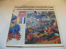 Lego catalogue annee 1970 /  medium catalog from 1970
