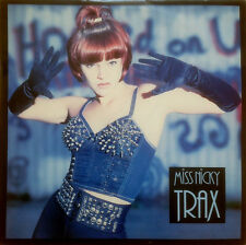 Miss Nicky Trax Hooked On You 12 Inch Vinyl 1989 Belgium Acid Rave Near Mint