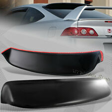 For Acura RSX DC5 Type-S ABS Plastic Black Rear Roof Spoiler Window Visor Wing