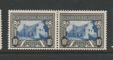South Africa 1933/48 SUID-AFRIKA, Correct pairs MM 10/- Blue & Sepia SG 64c