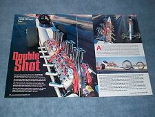 """Flathead Jack's Twin Flathead Front Engine Dragster Article """"Double Shot"""""""