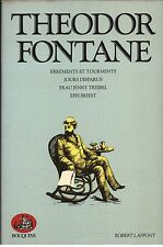 Theodor FONTANE : Romans, collection Bouquins