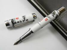 Jinhao Blue and White Porcelain With Chinese Painting Fountain Pen