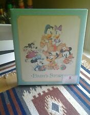 HALLMARK 3 RING,5 YEAR MICKEY AND FRIENDS BABY JOURNAL NIB