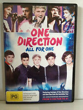 ONE DIRECTION ~  ALL FOR ONE ~ AS NEW/MINT DVD ~ PAL REGION 4 ~ **FREE POST
