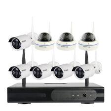 8CH Wireless WiFi IP Cameras Surveillance Security System kindergarten School