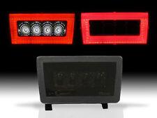 SMOKE Rear LED Bar Cube Fog Light Brake Backup Reverse For 11-16 Subaru WRX STi