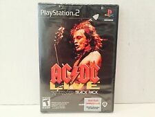 AC/DC Live Rockband Track Pack Playstation 2 PS2 Factory Sealed