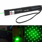 303 GREEN LASER POINTER PEN FOCUS ADJUSTABLE 532NM BURNING BEAM STAR LAZER PEN