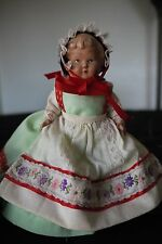 "Vintage 6"" Hollow Celluloid Jointed Doll ~ Clamshell Shell Mark"