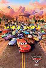 "Pixar - Disney Cars 2 - [ 8.5"" x 11"" ]  movie - Poster"