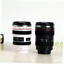 Camera Lens Shape Cup Coffee Tea Travel Mug Stainless Steel Vacuum Flasks BY