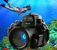 40M 130ft Waterproof Underwater Diving Housing Case for Nikon D7000 DSLR Camera