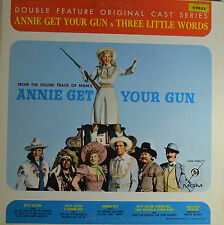 "ANNIE GET YOUR GUN & THREE LITTLE WORDS - ADOLPH DEUTSCH   12""   LP  (Q501)"