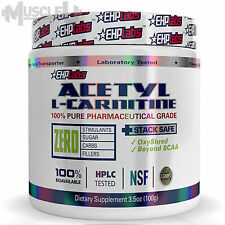 EHPlabs Acetyl L-Carnitine - 100 Serves - ALCAR EHP labs OxyShred Buzz Crea-8