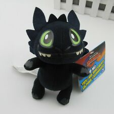 """HOW TO TRAIN YOUR DRAGON MINI PLUSH Toothless Night Fury 6"""" with tag"""