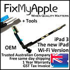iPad 3 OEM Headphone Jack Audio Flex Cable Ribbon Wifi Replacement Full Assembly