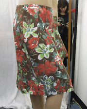 Joseph Ribkoff BNWT UK 10 Beautiful Floral Multicolour Stretch Knee Length Skirt