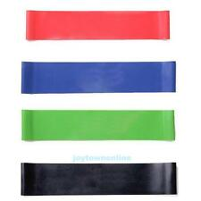4 Exercise Resistance Loop Bands for Fitness Stretch Strength Physical Therapy