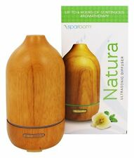 SpaRoom Natura Wooden Ultrasonic Diffuser Up To 7 Hours Of Aromatherapy