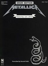 Learn Play Drums With METALLICA Black Album Music Book