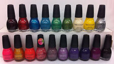 LOT OF 19 SINFUL COLORS NAIL POLISH PROFESSIONAL .5 FL OZ 15ML