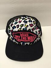 Vans Shoes Off The Wall Trucker Punk Skateboarding Cheetah Hat Cap Snap Back