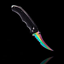 HIMMELSSCHMIEDE Counter FLIP KNIFE FADE GO Skin CS Strike Messer Karambit