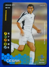 WIZARDS CARD - FOOTBALL CHAMPIONS 2003-04 - N. 047/100 - CESAR - LAZIO