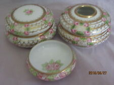 Noritake Nippon 3 Piece Dresser Set RC Mark