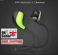 STEREO Wireless Bluetooth Calling Music Gaming Headset + Mic for Phones/Tablets