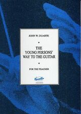 Young Person's Way To The Guitar For The Teacher Learn to Play Music Book