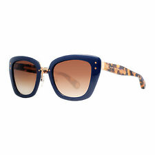Marc Jacobs MJ 506/S 0NU/CC Blue/Havana Brown Gradient Women's CatEye Sunglasses