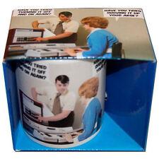 Nueva ¿ ha intentado desactivarlo y de nuevo en caja Mug Taza De Café Retro De Regalo