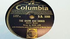 DICK LEE THE SHOW HAS ENDED & ALL I WANT IS A CHANCE COLUMBIA DB3360