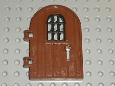 Porte LEGO Chateau castle door ref 64390 RedBrown / set 7946 10245 4738 4842 ...