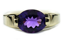 Museum 3.0 ct Natural Amethyst in 14k Solid Gold Kristine Brand