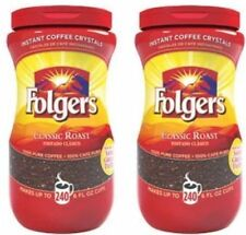 Folgers Instant Coffee 16 oz. 2 Packs