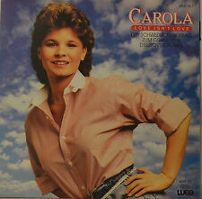 "CAROLA - LOVE ISN`T LOVE - SWEDISH GRAND PRIX EUROVISION 1983  Single 7"" (H779)"